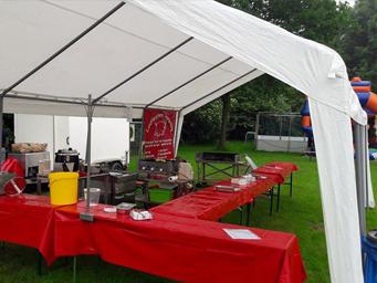 Grillfest ausrichten mit der Eventgastronomie der Landfleischerei Hinterding in Krefeld - Oppum